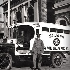 Take a look back at the introduction and history of St John Ambulance in Western Australia (WA)