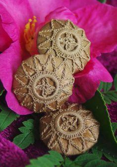 Antique Victorian Fabric Buttons Crochet over by ButtonBroker, $12.00