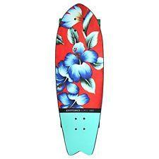 Kryptonics Vintage Flower Skateboard 28 Inch