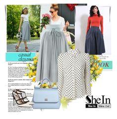 DOLCE & GABBANA Sequin Peplum Hem Mesh Skirt. #dolcegabbana #cloth ...