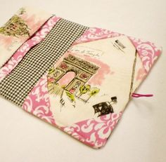 Kindle 3 or Kindle Fire Cover  Paris Chic EReader by momandmia, $20.00