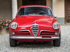 1957 Alfa Romeo Giulietta Sprint Veloce 'Alleggerita' by Bertone | London 2015 | RM Sotheby's