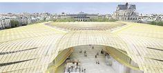 Fayat réalisera la charpente de la Canopée des Halles à Paris