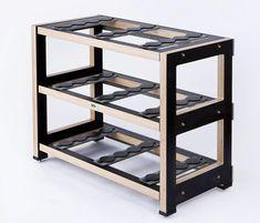 Silent Running Audio (SRA) Scuttle Equipment Rack www. Hifi Stand, Audio Stand, Equipment For Sale, Audio Equipment, Tv Trolley, Turntable Setup, Silent Running, Room Acoustics, Audio Rack