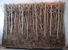Eva Jospin Cardboard Forests 7