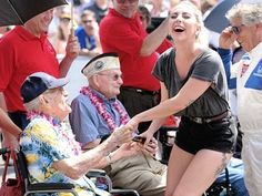 The Pearl Harbor Survivors were so amazing he asked me if I was married!!