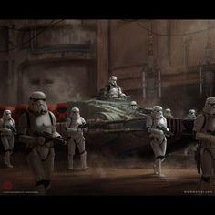ArtStation - Star Wars LCG, Mark Molnar