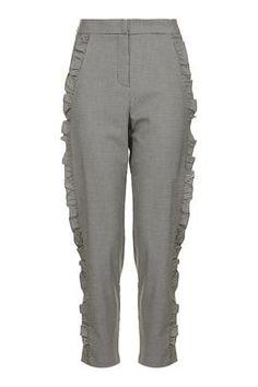 Frill Leg Peg Trousers