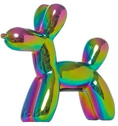 Interior Illusions - Plus Mini Iridescent Balloon Dog Bank Unique Gifts For Him, Gifts For Mom, Great Gifts, Balloon Dog, Ballon Animals, Cute Bulldogs, Christmas Gifts For Kids, Last Minute Gifts, Novelty Gifts