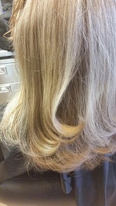 #blowout #blonde #layers