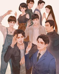 "A community to share your love for the Chinese Web drama ""Guardian/Zhen Hun""! Shen Wei, Chines Drama, Fanart, Kawaii, Pretty Art, Chinese Art, Priest, Deities, Fantasy Characters"