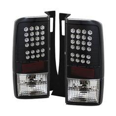 2003-2007 Scion XB LED Tail Lights - Black