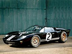 The Ford made to take down Enzo Ferrari and his steed of race cars, is the only American made car to win at Le Mans. Us Cars, Sport Cars, Race Cars, Ford Motor Company, Toyota Supra, Ford Gt40 1966, Ferrari, Maserati, Cabriolet