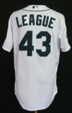 2012 Seattle Mariners Brandon League #43 Game Issued Home Jersey 35th Ann Patch - Game Used MLB Jerseys by Sports Memorabilia. $170.33. 2012 Seattle Mariners Brandon League #43 Game Issued Home Jersey 35th Ann Patch