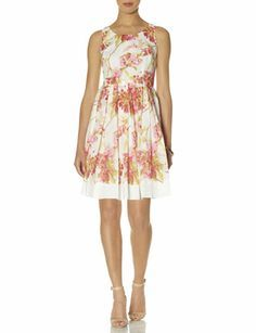 Floral Print Dress from THELIMITED.com #TheLimited #Dress #DressUp #SpringStyle