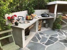 Outdoor Kitchen Patio, Outdoor Oven, Outdoor Kitchen Design, Rustic Outdoor, Outdoor Cooking, Outdoor Decor, Backyard Patio Designs, Yard Design, Barbacoa Jardin