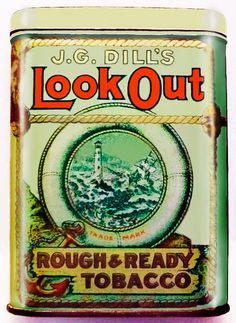 Pocket Tobacco Tin - LookOut