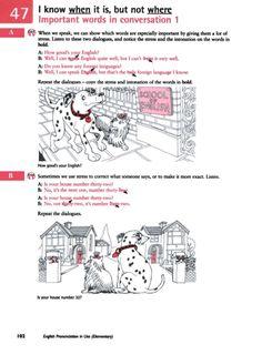 Title Slide of English Pronunciation in Use - Elementary In Use, English, English Language