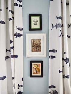 How to stamp drapes with a DIY stamp via pewter+sage