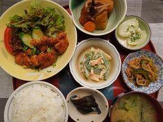 Karaage lunch