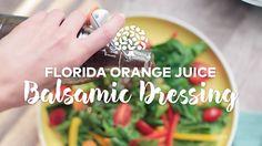 Florida Orange Juice Balsamic Dressing