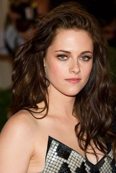 Kristen Stewart for the role of Anastasia Steele. She's even awkward like her. - my 1st choice