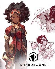 Pre-Alpha Release by Nicholas Kole Female Character Design, Character Design References, Character Creation, Character Design Inspiration, Character Concept, Character Art, Concept Art, Art Anime, Illustrations