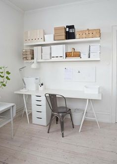 white and wood, workspace | an angel at my table, Photo Mari Eriksson