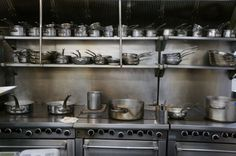 Avance, From The Inside | The kitchen is ready to go. Photographed hours before the first pay-service.