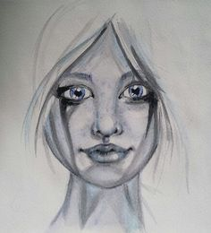 By Carmen Wing who is attempting a 100 faces this year