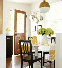 Stretch a small kitchen space without a major remodel. Check out these small kitchen ideas for cabinetry, color schemes, countertops, and more that make a little kitchen look and feel spacious. Home Decor Inspiration, Decor, Small Kitchen, Home Kitchens, Home, Interior, Kitchen Design, Budget Remodel, Home Decor