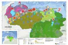Análisis de densidad de organizaciones voluntarias en Venezuela, 2015