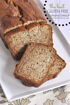 Create a delicious light and flavorful gluten free banana bread. The Best gluten free banana bread you will every try! No one will know its gluten free. Best Gluten Free Recipes, Gluten Free Sweets, Gluten Free Cooking, Pan Comido, Sem Gluten Sem Lactose, Dessert Sans Gluten, Gluten Free Breakfasts, Banana Bread Recipes, Tofu Recipes