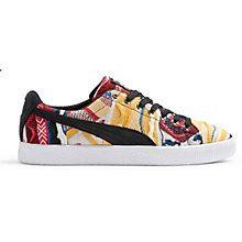 wholesale dealer bce7c 810eb COOGI Clyde Sneakers Puma Clyde, Gold Lace, Big Black, Lace Closure,  Footwear