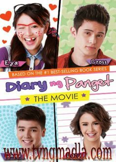 Diary of an Ugly: The Movie (Philippines Movie); Diary ng Panget: The Movie; Diary of an Ugly;Diary of an Ugly Person; Drama Film, Drama Movies, Series Movies, Book Series, Pinoy Movies, Jadine, Tagalog, Movie Collection, Movies Showing