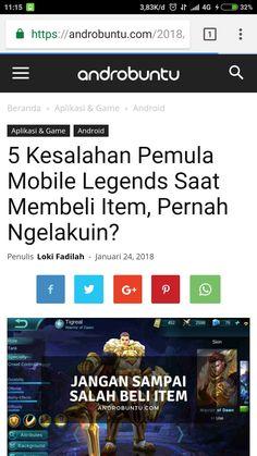 Ini dia 5 kesalahan pemula saat membeli item di mobile Legends. Apakah kamu pernah ngelakuin? Baca selengkapnya di androbuntu.com