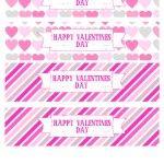 Free Valentines Day Printables  drink wraps  #valentines #pink #freebies  @Printable Party Shop  http://www.printablepartyshop.com