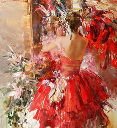 Ivan Slavinsky ~ Surrealist and impressionist painter Culture Russe, Illustration Art, Illustrations, Wow Art, Art Moderne, Russian Art, Beautiful Paintings, Contemporary Paintings, Beautiful Images
