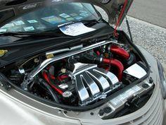 2001 Chrysler PT Cruiser Custom Car & PT Cruiser Body Trailor ...