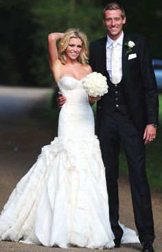 abbey clancy wedding dress replica - Google Search