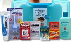 Free Johnson's Baby Relief Kit