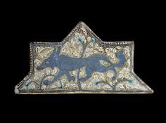 Tile | Origin:  Iran | Period: late 13th-early 14th century  Il-Khanid period | Details:  Not Available | Type: Stone-paste painted under colorless glaze |