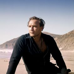 Brando. (No details included with the photo. 1960s?)