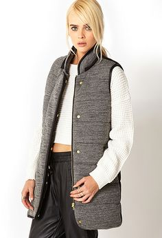 SLIMMING Refined Puff Vest | FOREVER21 - 2000051727  1. Follow @Forever 21 on Pinterest  2. Create a board with the title: Forever Holiday Wish List  3. Pin your fave 21 items from Forever21.com  4. Tag each pin with #ForeverHoliday  5. Drop your Pinterest info at:  6. Be entered to win a $1,000 gift card!!