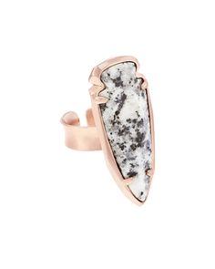 Kenny Ring in Gray Granite - Kendra Scott Jewelry.