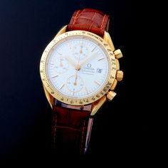 Omega Speedmaster Chronograph Automatic // 1753 // c.2000 // Pre-Owned