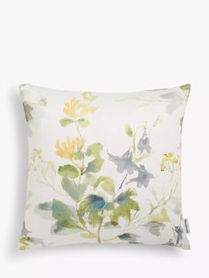 Sanderson National Trust Honey Flower Cushion at John Lewis & Partners Sanderson Fabric, Shell Station, John Lewis Shops, Cushion Filling, National Trust, Timeless Fashion, Contemporary Style, Cushions