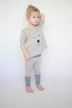 Sweat-shirt et pantalon ours ensemble par AnchoreDeep sur Etsy