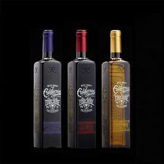 Stranger & Stranger's California Square wine bottle is elegant and vintage - featured on Trendhunter
