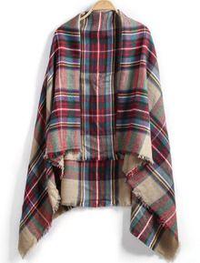 Blanket scarf - Sheinside